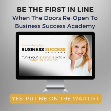 Business Success Academy Waitlist